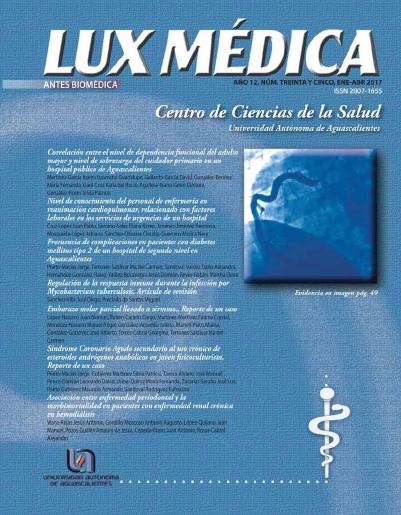 Portada Lux Médica
